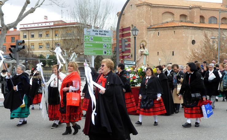 Festividad de Santa Águeda en Medina del Campo