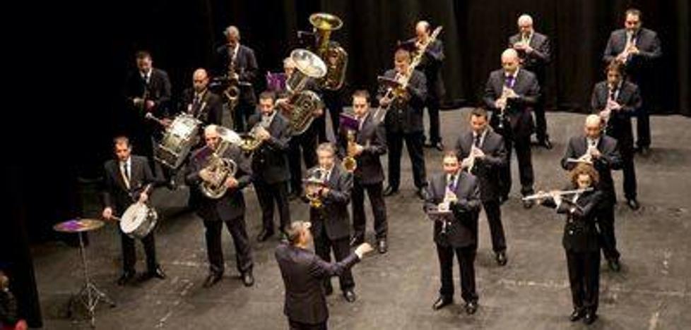 'Las mil y una notas' llegan al Teatro Principal de Palencia de la mano de la Banda de Música