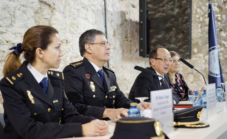 Altos mandos de la Policía Nacional se dan cita en Segovia