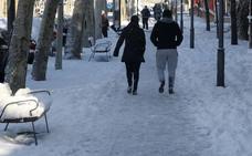 El 30% del alumnado de Segovia se queda en casa por el hielo