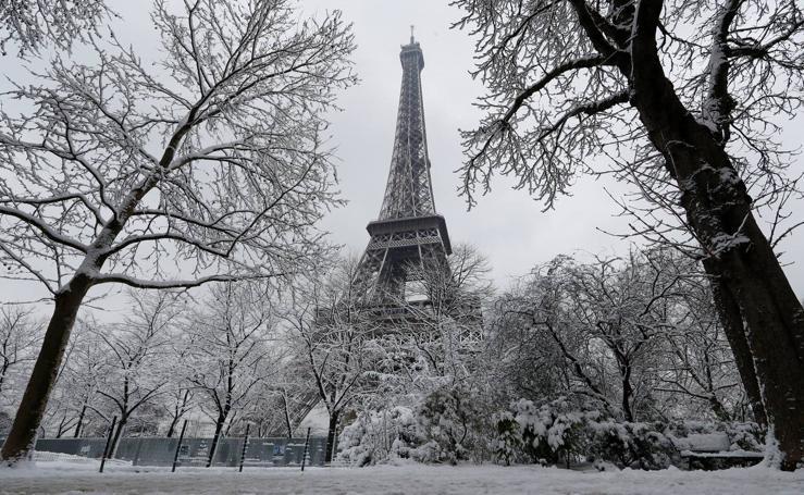París se viste de blanco