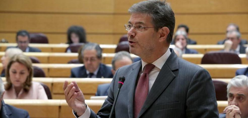 Catalá ve una «demanda social» prohibir los indultos a los condenados por sedición y rebelión