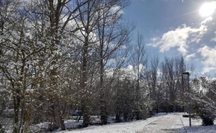 La nieve vuelve a la provincia