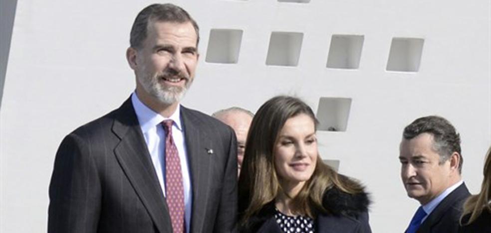 La Reina Letizia se reencuentra con Lorenzo Caprile