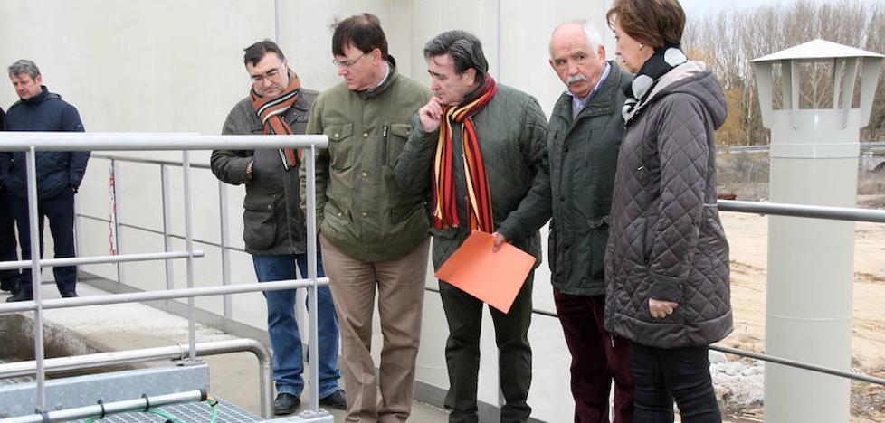 La nueva Edar de Cuéllar podrá atender las necesidades de 27.500 habitantes