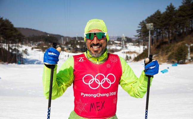 Germán Madrazo: aprender a esquiar con 42 años y en doce meses lograr el sueño olímpico