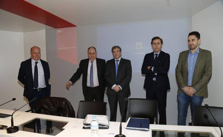 Plataforma de empresarios palentinos en Madrid