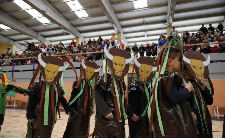 Los colegios de Peñafiel celebran los carnavales