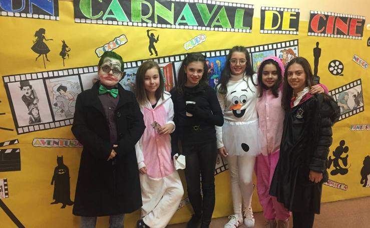 Escolares de Valladolid disfrutan del carnaval