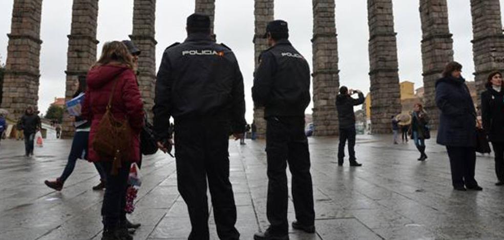Cuatro detenidos por robar en un bar de Segovia