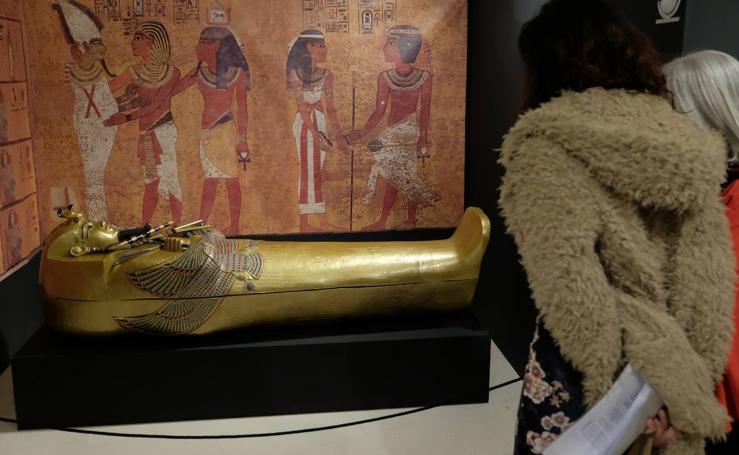 Tutankamon aterriza en Valladolid