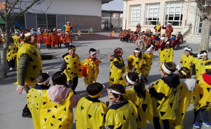 Los colegios de la provincia de Valladolid celebran el carnaval