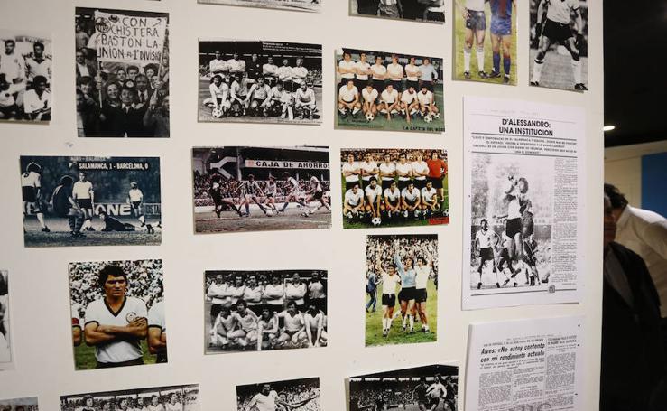 Exposición de Unionistas por el 95 aniversario de la UD Salamanca