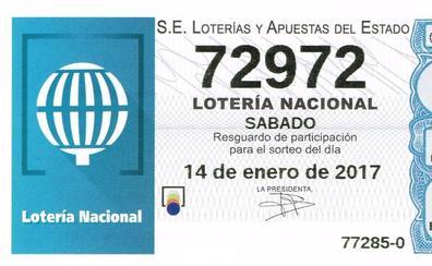 La Lotería Nacional deja parte de un segundo premio, dotado con 120.000 euros, en Valladolid y Robleda (Salamanca)