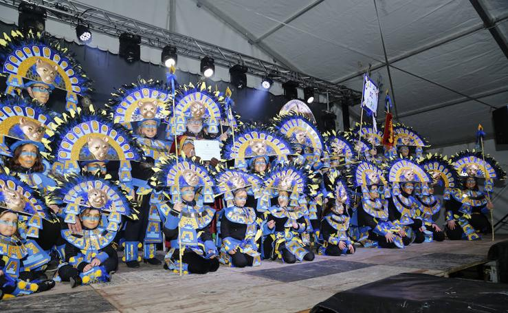 Entrega de premios del carnaval de Palencia