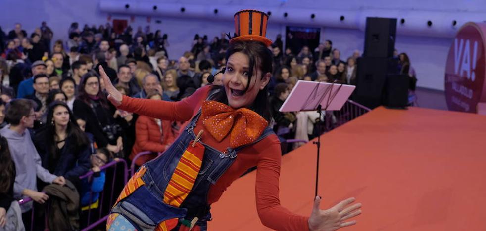 Nuria Martín: «Quería que en el pregón del carnaval estuviesen Nuria por un lado y 'Tina' por otro»