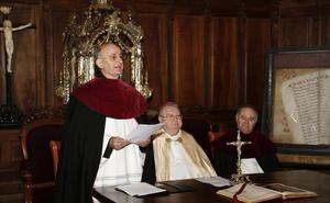 Toma de posesión del deán de la catedral de Palencia