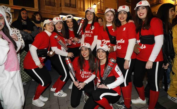 Desfile de carnaval en Peñafiel