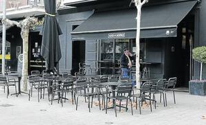 La segunda terraza cerrada de Palencia estará en el Salón