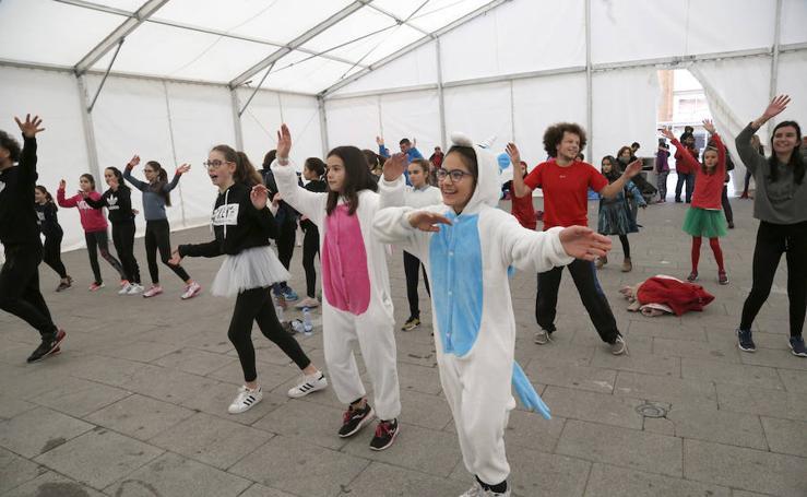 Carnaval solidario en Palencia