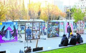 Subasta de obras de arte urbano para los huérfanos por violencia de género