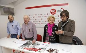 Concentración en Palencia para exigir pensiones dignas