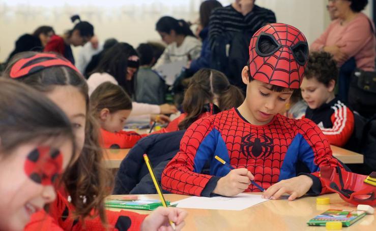 Concurso infantil de dibujo 'Disfrázate y pinta tu carnaval'