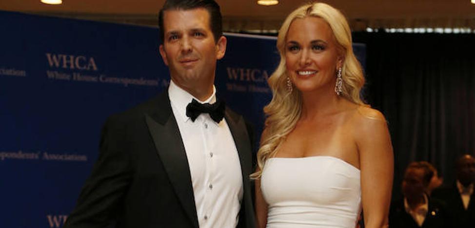 Hospitalizan a una nuera de Donald Trump tras abrir «un paquete sospechoso»