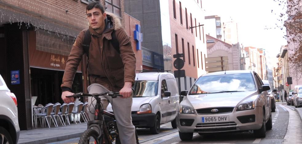 El centro de Valladolid sumará 2,5 kilómetros de ciclocarril para las bicicletas