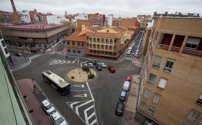 La plaza de Luis Braille ganará una zona ajardinada con su reforma