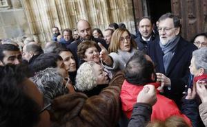 El presidente del Gobierno, de paseo por Palencia