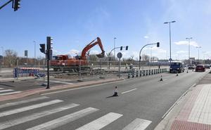 Las obras en la Serna se prolongarán hasta el 23 de febrero