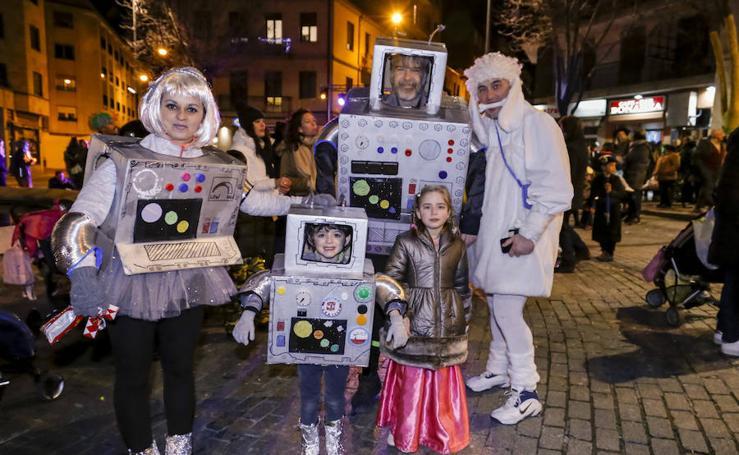 Desfile de carnaval del barrio del Oeste de Salamanca