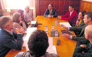 Avanza el plan director de los cerros del Cristo en Palencia