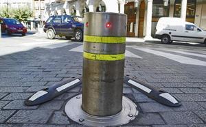El sucesor del bolardo de la Plaza Mayor de Valladolid