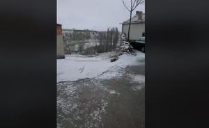 La nieve asoma de nuevo en la provincia de Valladolid