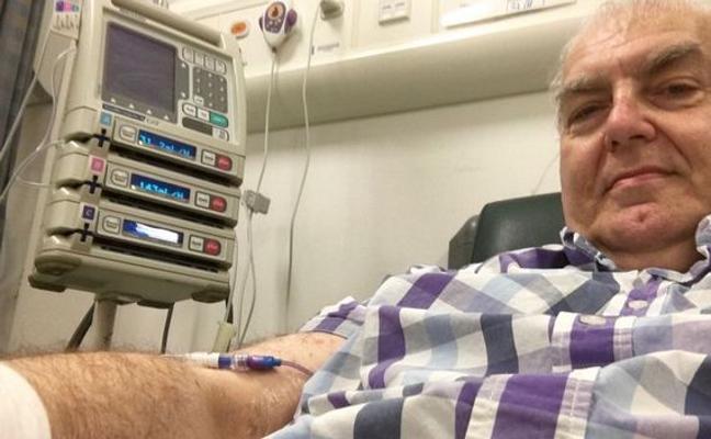 Compra por eBay su máquina de quimioterapia para tratarse el cáncer