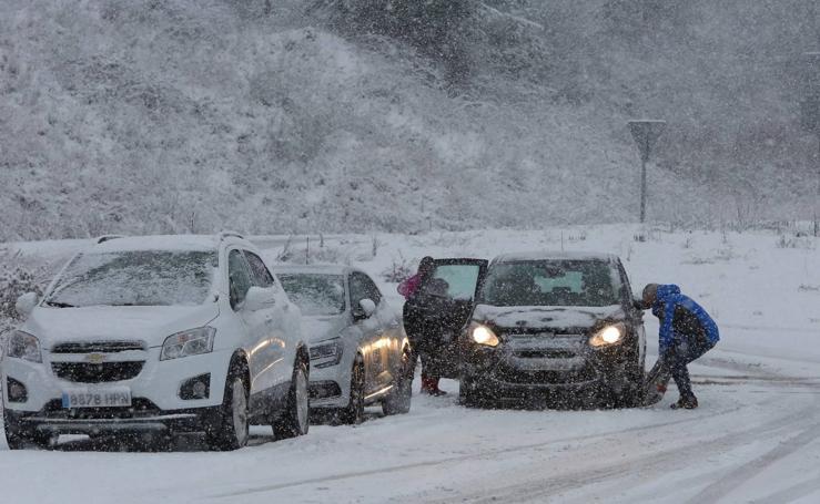 Regresa el temporal de nieve a León