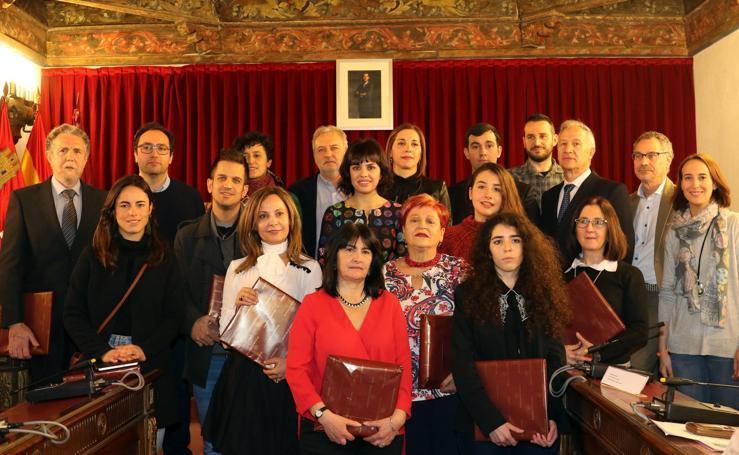 Entrega de los Premios y Becas 2017 de la Diputación de Valladolid