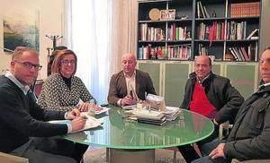 La Diputación de Palencia construirá la carretera de Villanueva del Rebollar a Paredes