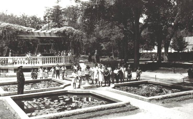 El parque de Poniente a través de los años