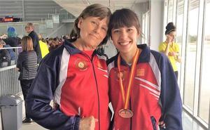 Mónica Mendoza, del CAV. bronce en el nacional sub-23