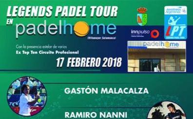 El Aerolíneas Argentinas Legends Padel Tour llega a Villamayor con jugadores históricos