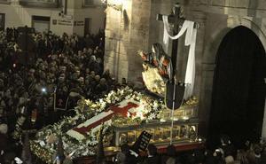 Programa de procesiones del Miércoles Santo, 28 de marzo, en Valladolid