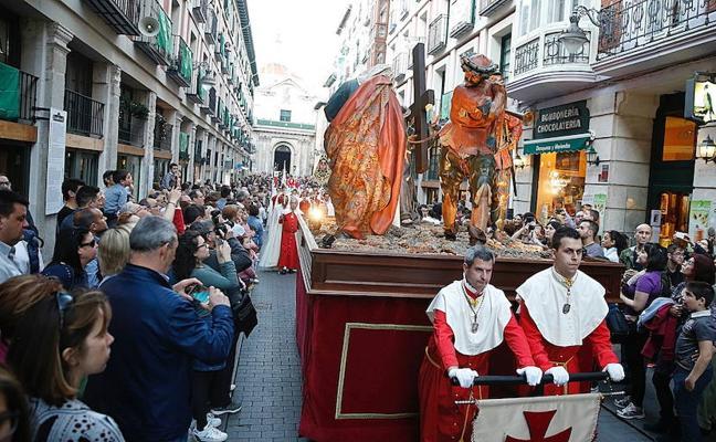 Programa de procesiones del Lunes Santo, 26 de marzo, en Valladolid