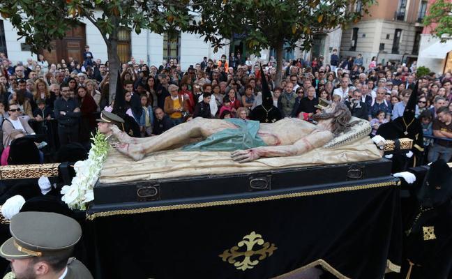 Programa de procesiones del Sábado Santo, 31 de marzo, en Valladolid