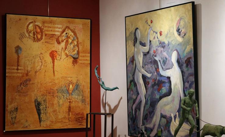 Exposición dedicada a Pedro Monje en la galería Rafael de Valladolid