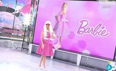 Anabel Pantoja se disfraza de Barbie, horas después de la muerte de su tía abuela