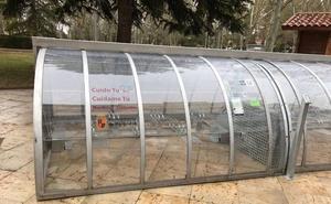 Los aparcamientos de seguridad para bici ya funcionan en la plaza de San Pablo de Palencia