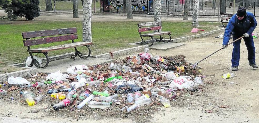 Catorce menores atendidos por intoxicación en el botellón de carnaval en Valladolid